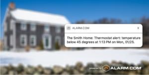 thermostat alert